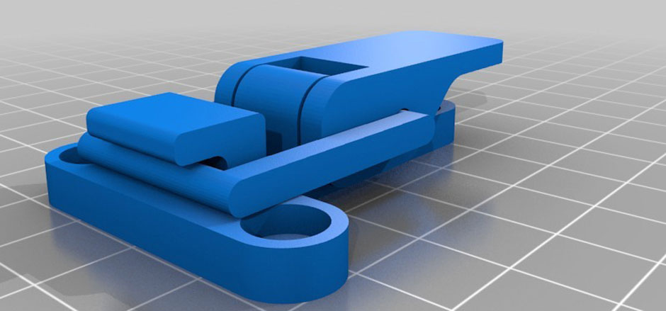 3D Printing Lever Latch