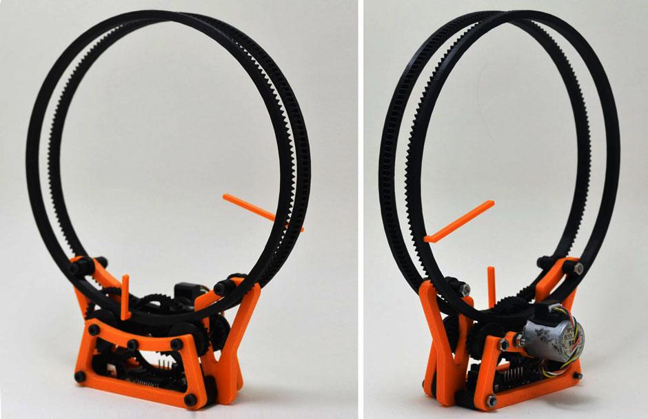 3D Printing Holo Clock