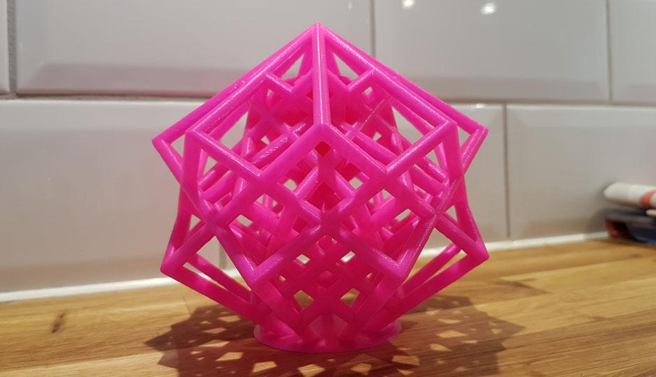 3D Printing Lattice Cube