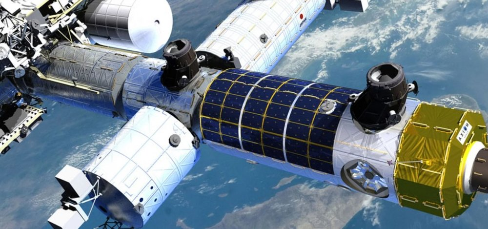 space station 3D printing