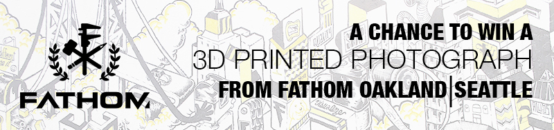 3D Printed Photo Contest FATHOM