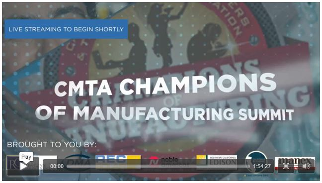 Champions of Manufacturing Video of Live Webcast