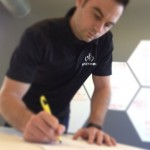 Rich Stump, Principal at FATHOM, Signing Technology Partnership with LLNL Last Week