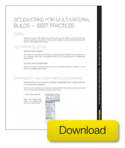 exporting stl files solidworks 3d printing multi-material