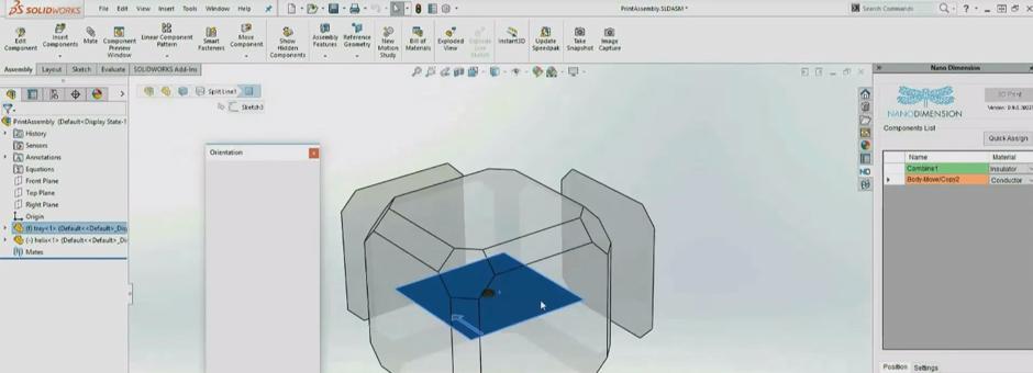 SOLIDWORKS Add-In // 3DP Circuitry-FATHOM