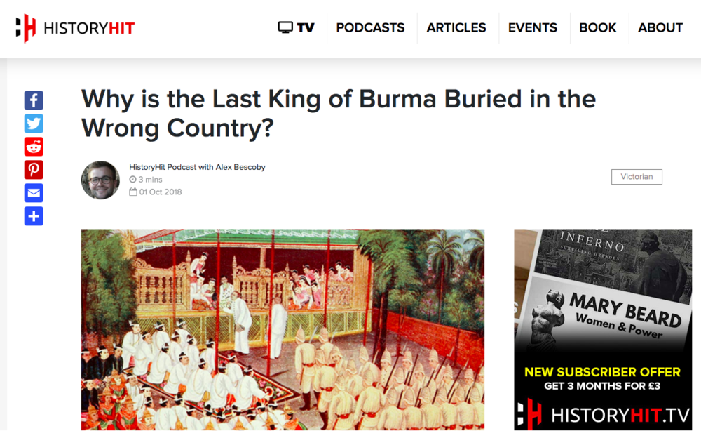 HistoryHit: The Last King of Burma