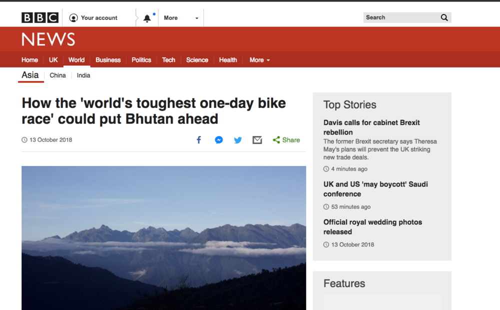 BBC News: The World's Toughest Bike Race