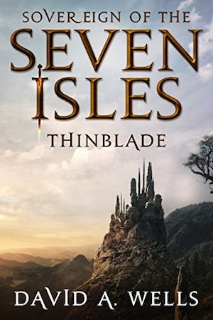 - After the death of his father, Alexander Valentine is reluctantly hurled into a world of ancient secrets and unrelenting darkness. Forced to play a pivotal part in a war that has been raging for millennia, Alexandar must journey to reclaim the powerful Thinblade weapon, stake his claim on the throne of Ruatha, and banish an enemy that seeks control of his unstable world of the Seven Isles.