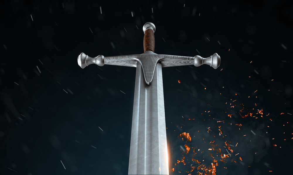 The Crucible - It's a game of wits. Of luck. Of Chance. Opponents face each other, one-on-one. A sword in the middle of the arena, a dagger at their side. The rules are simple, but the game is hard. Only a lone champion can emerge. Only one can survive.