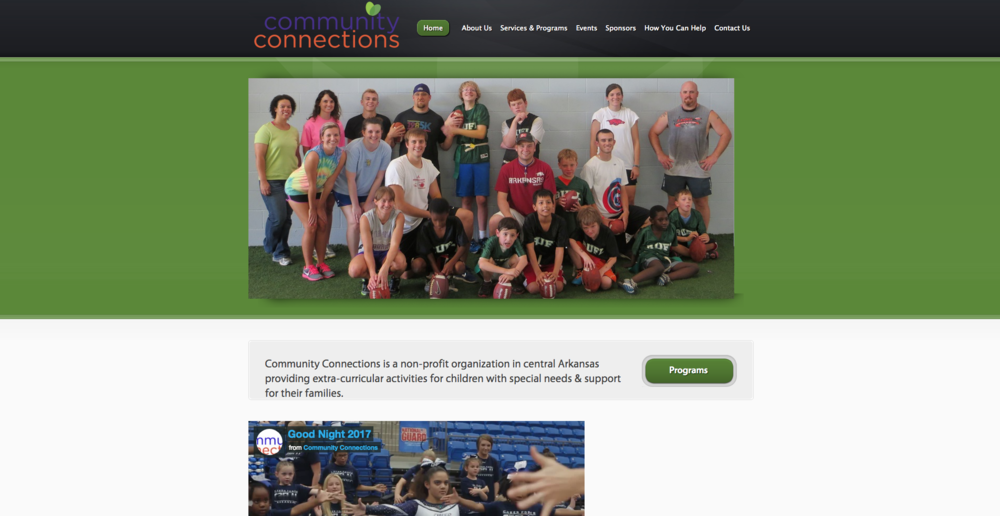 Community Connections - Community Connections is a 501c3 non-profit organization dedicated to improving the lives of children with disabilities and their families. Many children with special needs live in a cycle of school and therapy with little opportunity for extra-curricular activity. At the same time, families of children who are diagnosed with disabilities often lack education and a support network.Community Connections was created to provide extra-curricular activities for children with disabilities and support for their families.