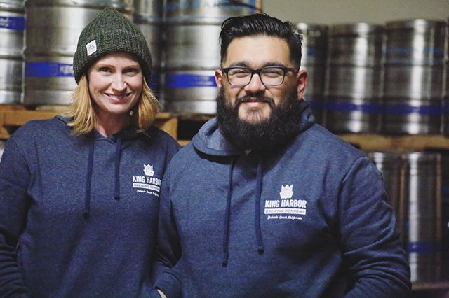It sure is cold and rainy out! Trying to stay warm while it's raining outside? Look no further than our NEW KHBC SWEATSHIRTS!! 😍 They are comfortable, soft, warm, and stylish (of course)! Available in ALL tasting rooms along with some of our other swag 👕👚🧢 Get one before they're gone! . . . #kingharborbrewing #kingharborbrew #kingharborvillage #kingharborwaterfront #craftbeer #redondobeach #hermosabeach #manhattanbeach #torrance #drinklocal #southbay #brewery #swag #shopping #gifts #giftofbeer #hats #shirts #sweatshirts #winter #winterwear #staywarm #style #rainyday