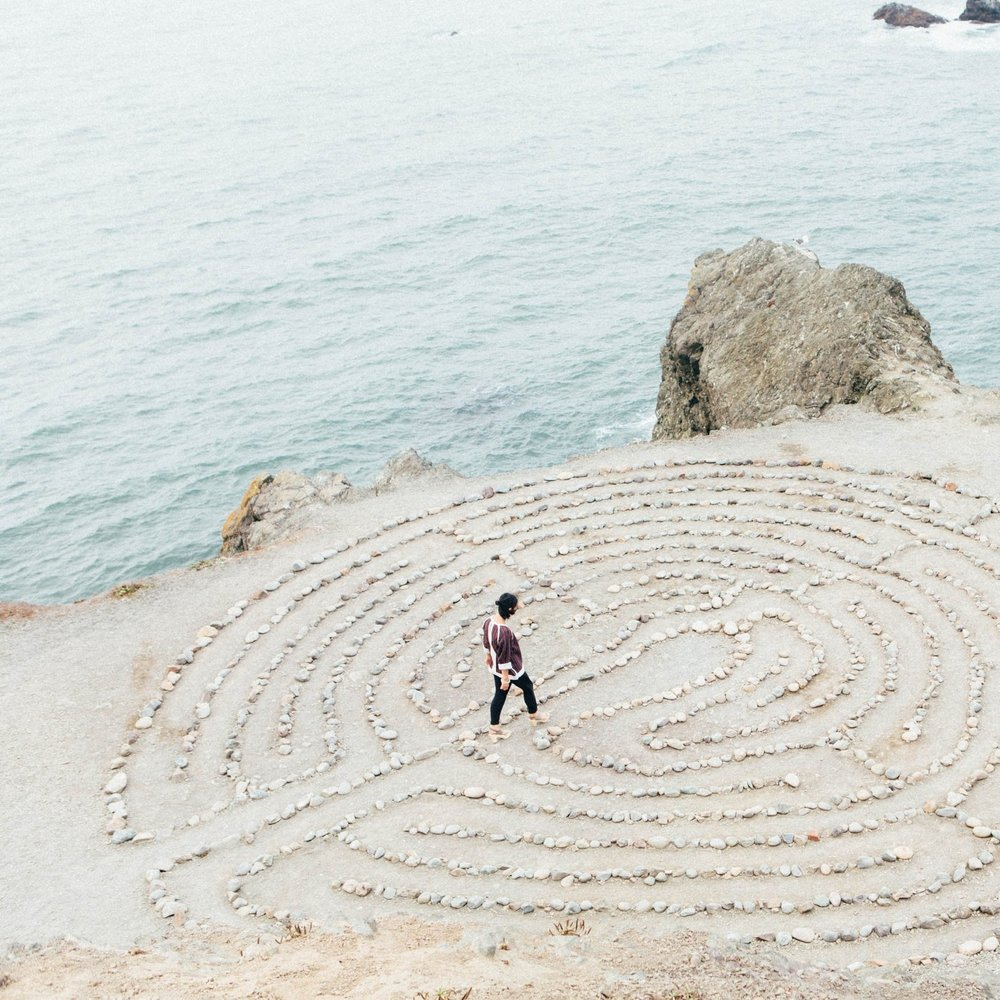 prayer labyrinth -