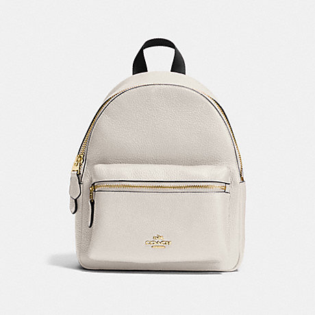 9c4f32166b Coach White Mini Charlie Backpack — Miskuewe