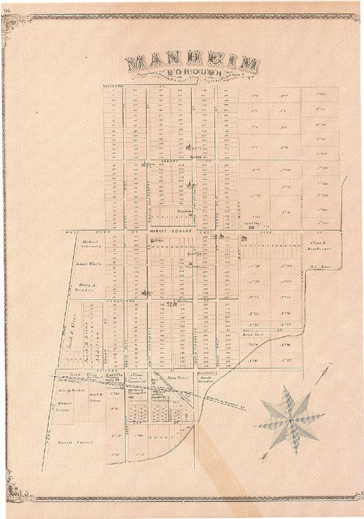 The Borough of Manheim 1838
