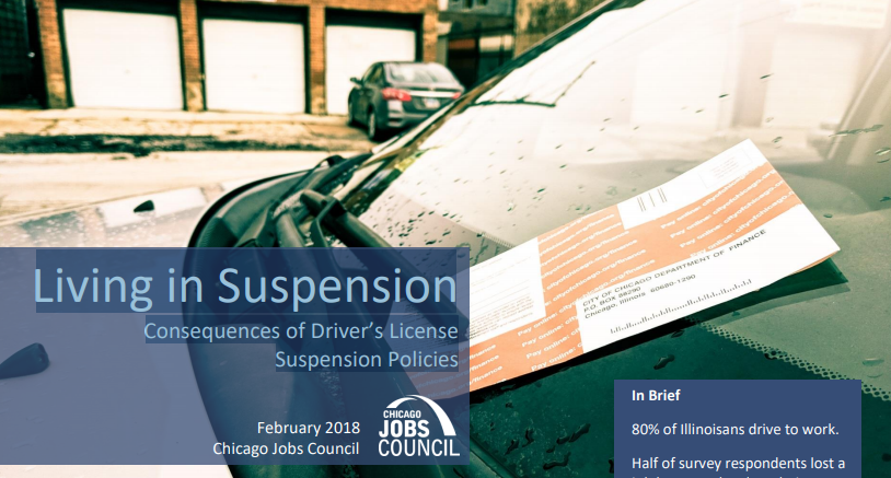 Living in Suspension Consequences of Driver's License Suspension Policies - DOWNLOAD THE REPORT