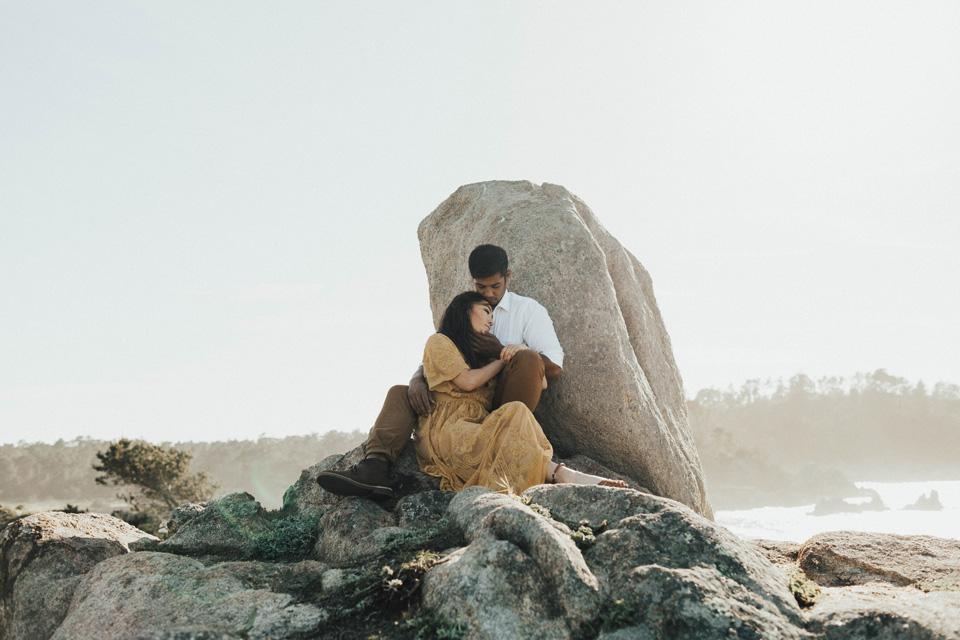 Big Sur Engagement Session - Michelle Larmand Photography011