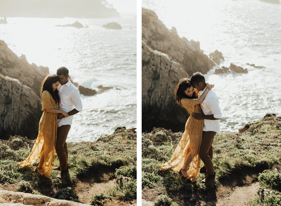 Big Sur Engagement Session - Michelle Larmand Photography017