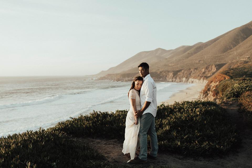 Big Sur Engagement Session - Michelle Larmand Photography037