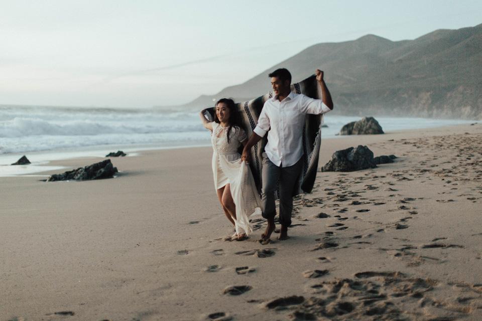 Big Sur Engagement Session - Michelle Larmand Photography069