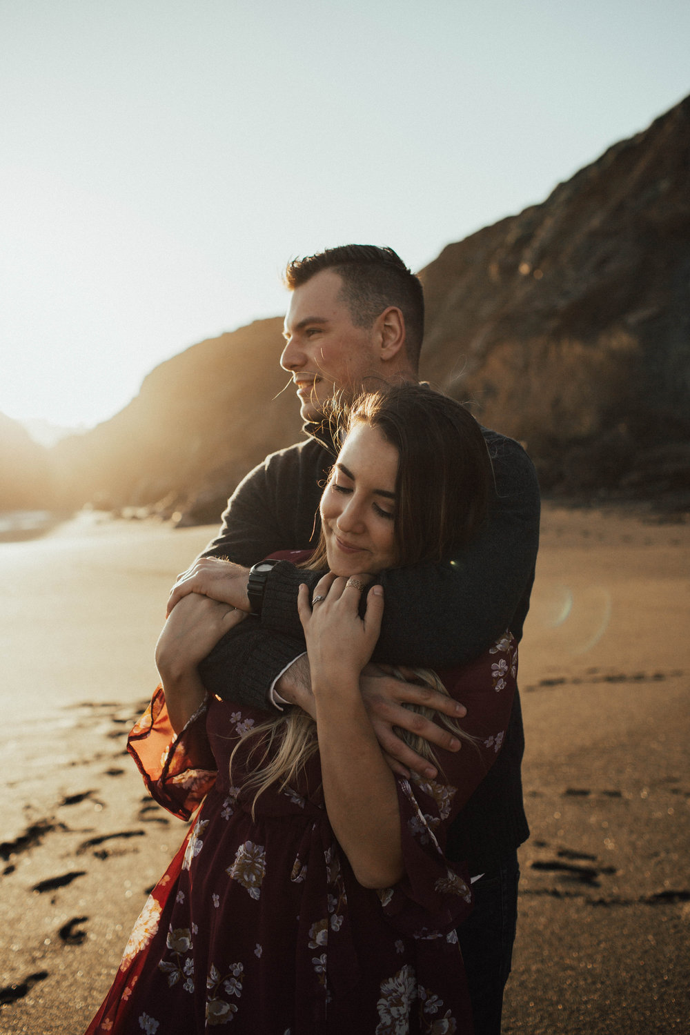 Black Sands Beach Couples Session - Michelle Larmand Photography004