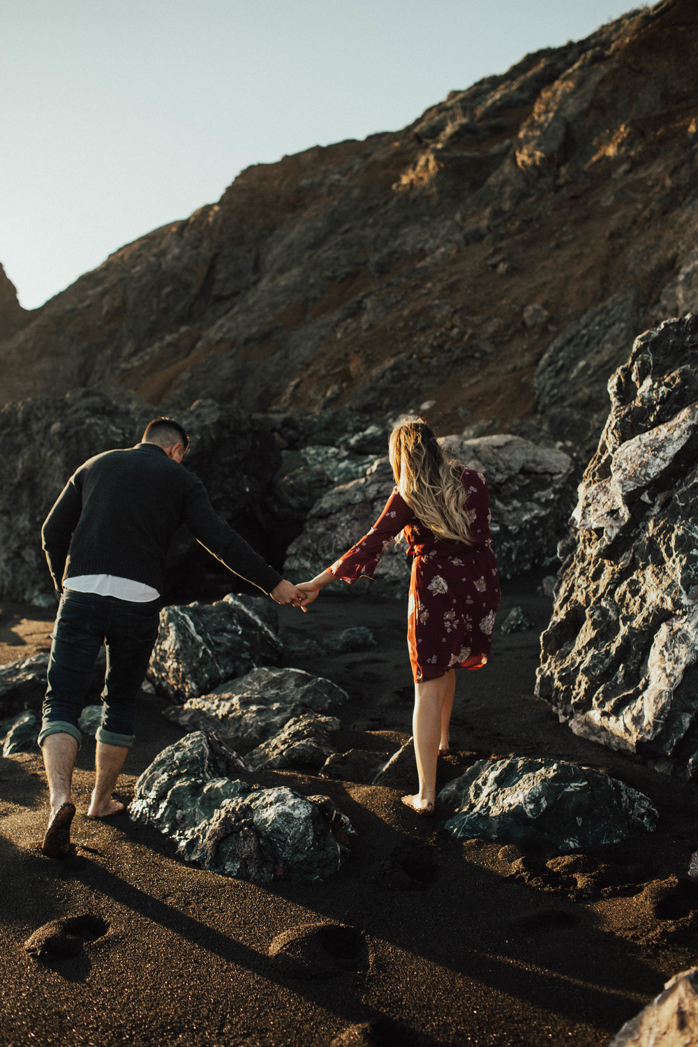 Black Sands Beach Couples Session - Michelle Larmand Photography011