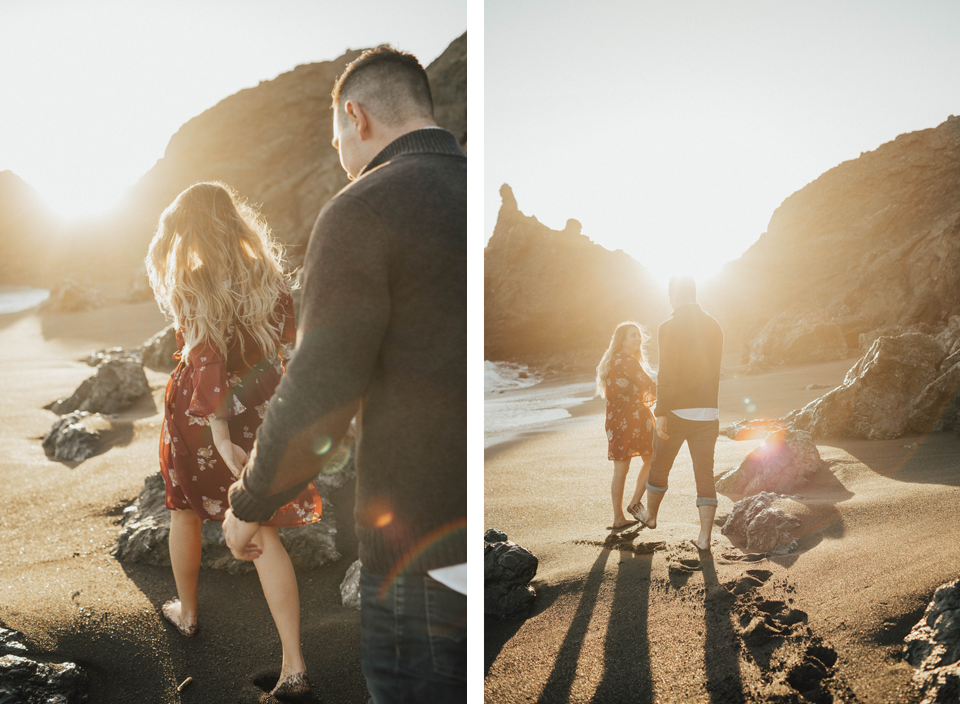 Black Sands Beach Couples Session - Michelle Larmand Photography014
