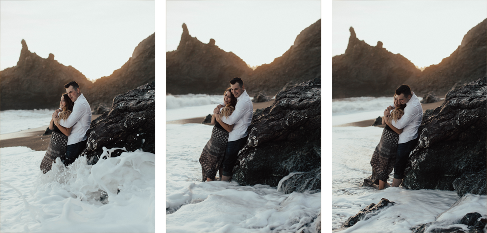 Black Sands Beach Couples Session - Michelle Larmand Photography037