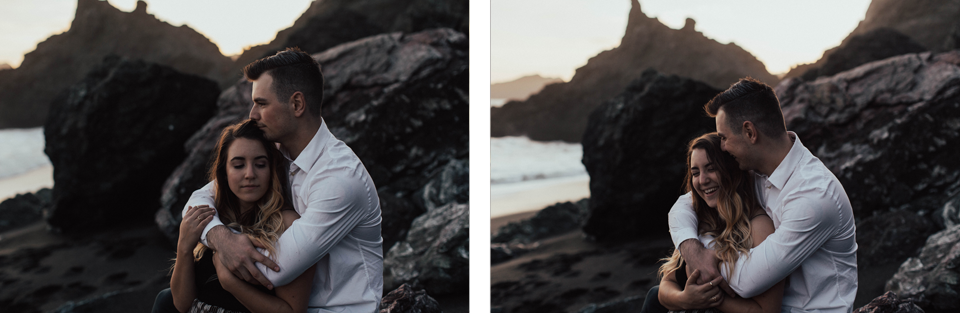 Black Sands Beach Couples Session - Michelle Larmand Photography049