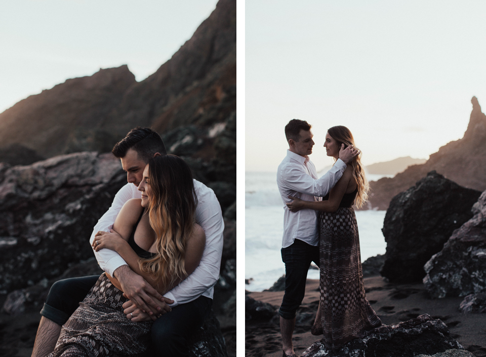 Black Sands Beach Couples Session - Michelle Larmand Photography053