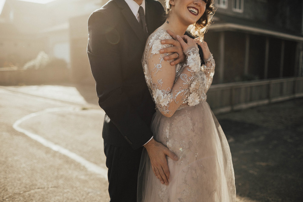 Cannon Beach Elopement - Michelle Larmand Photography - 015