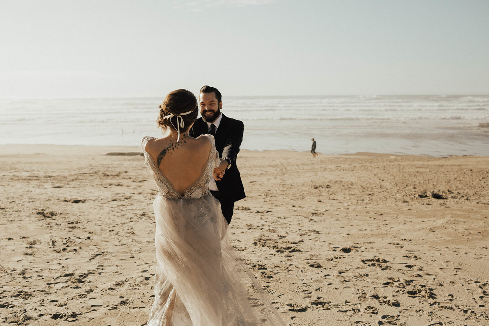 Cannon Beach Elopement - Michelle Larmand Photography - 036