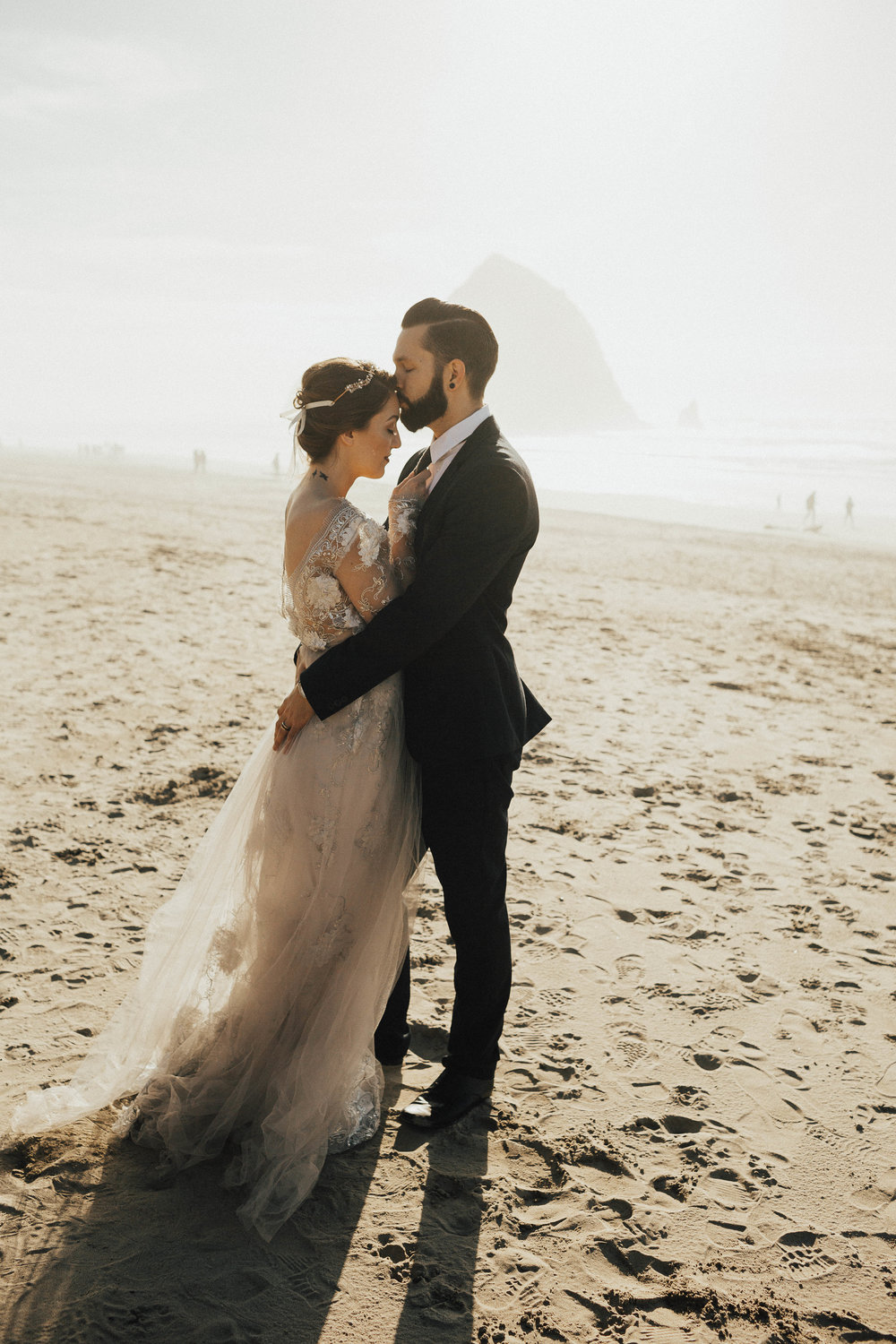 Cannon Beach Elopement - Michelle Larmand Photography - 041