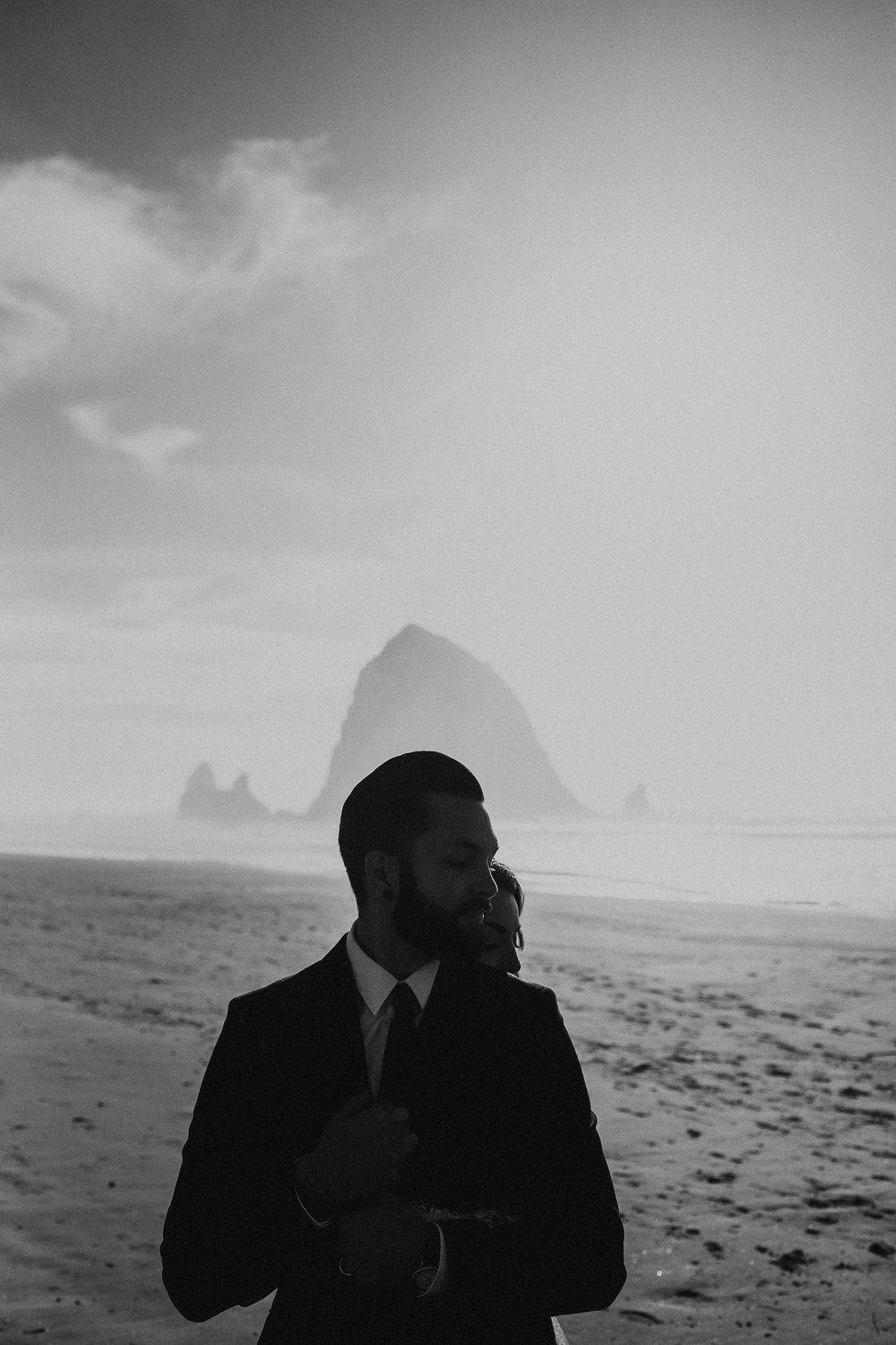 Cannon Beach Elopement - Michelle Larmand Photography - 050