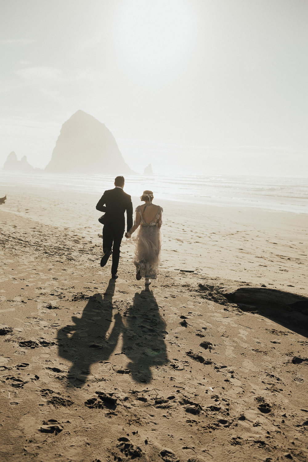 Cannon Beach Elopement - Michelle Larmand Photography - 051