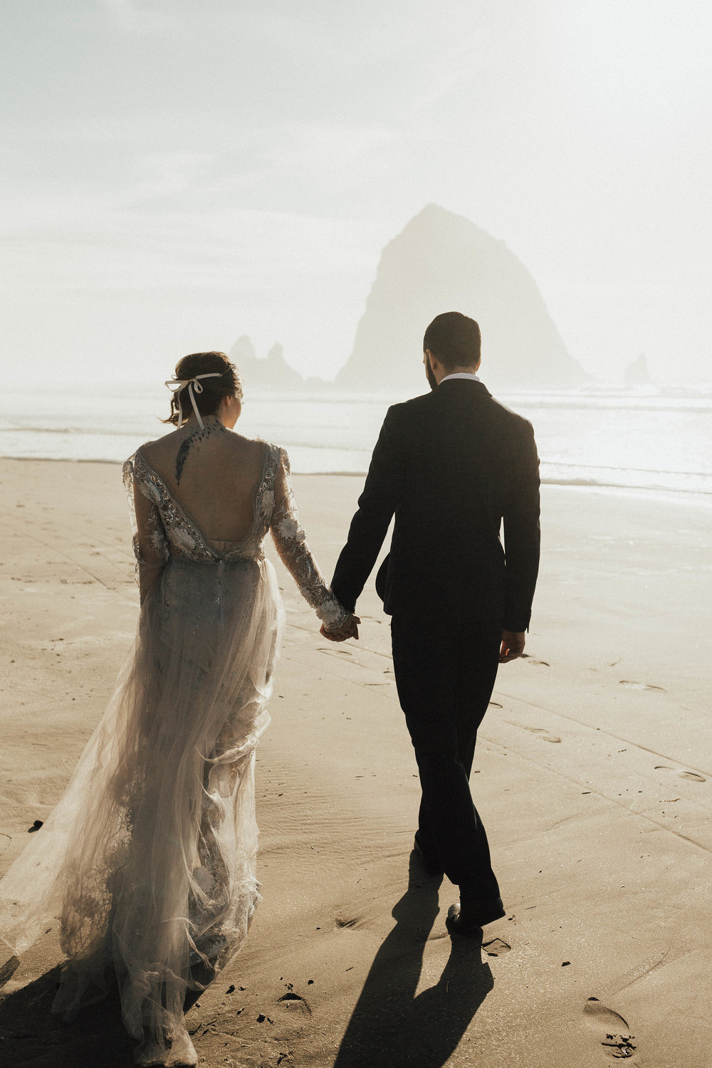 Cannon Beach Elopement - Michelle Larmand Photography - 058