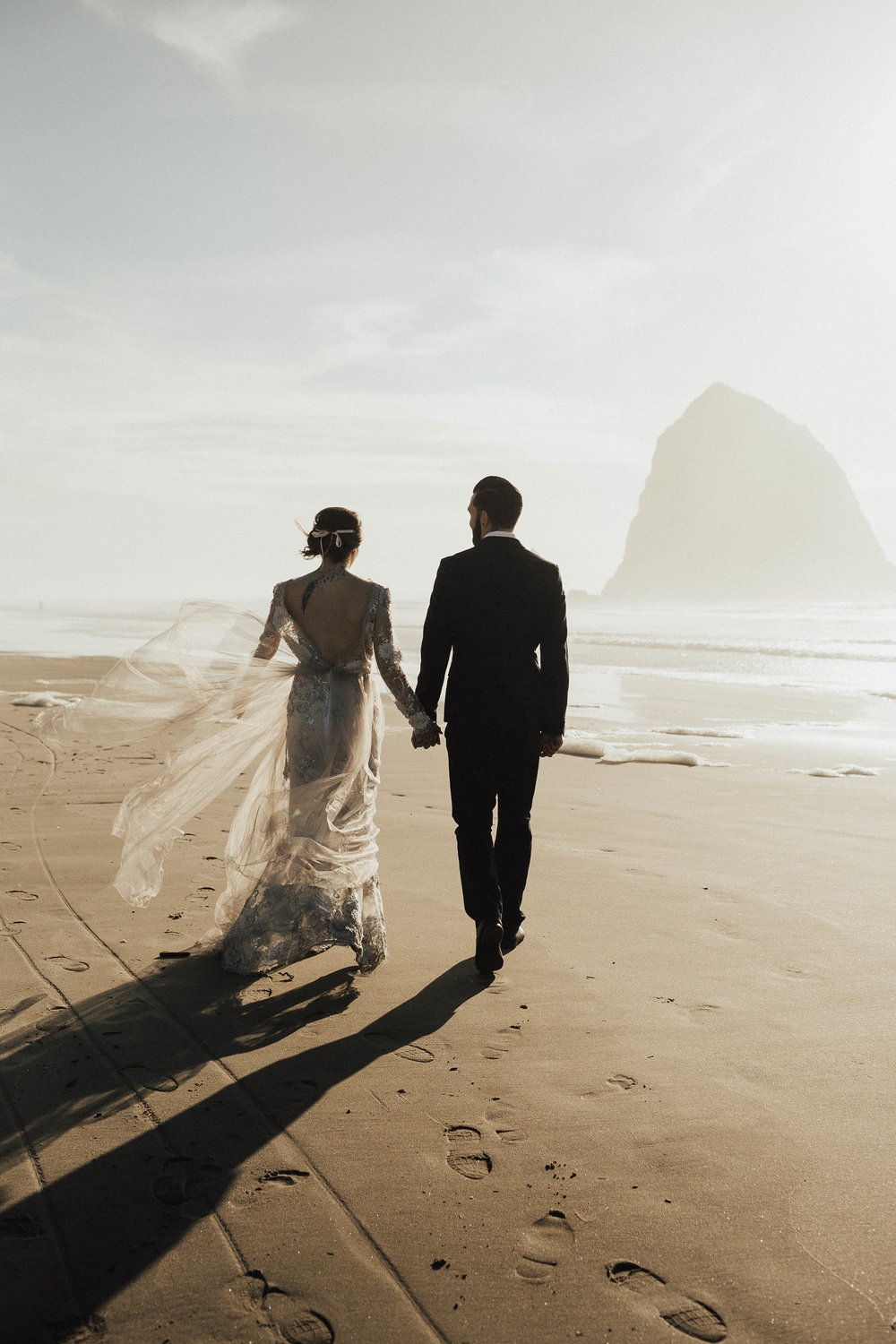 Cannon Beach Elopement - Michelle Larmand Photography - 059