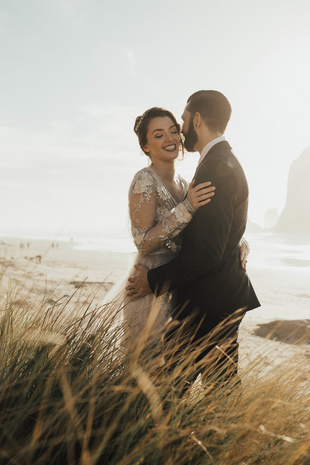 Cannon Beach Elopement - Michelle Larmand Photography - 073