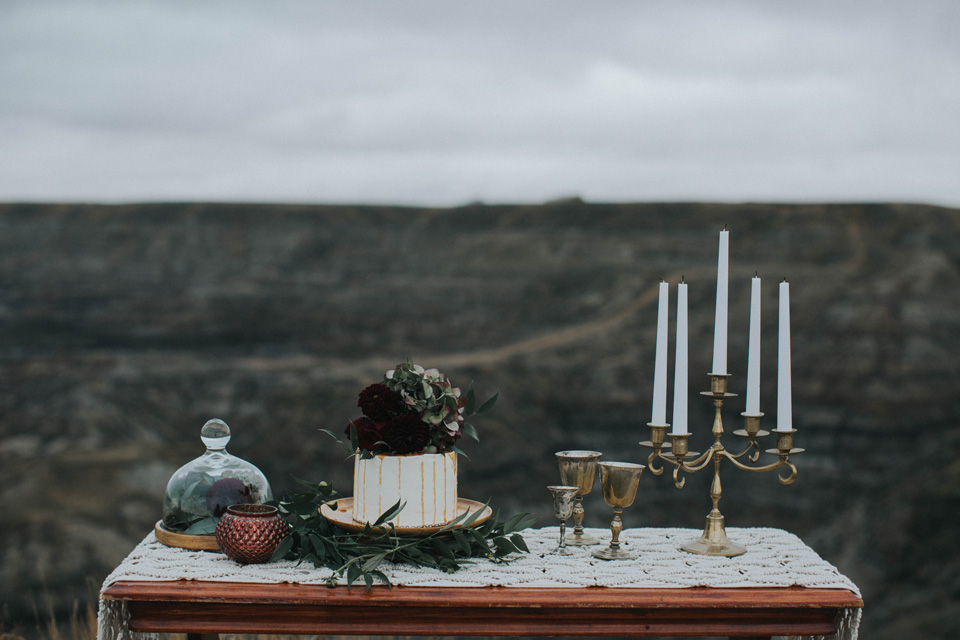 Drumheller Vow Renewal Elopement - Michelle Larmand Photography005