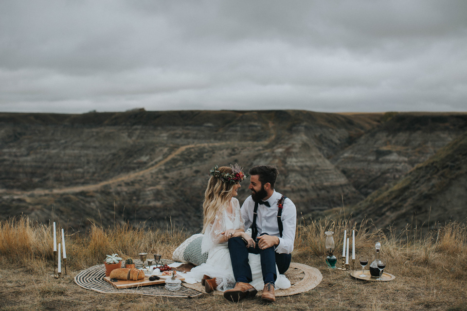 Drumheller Vow Renewal Elopement - Michelle Larmand Photography007
