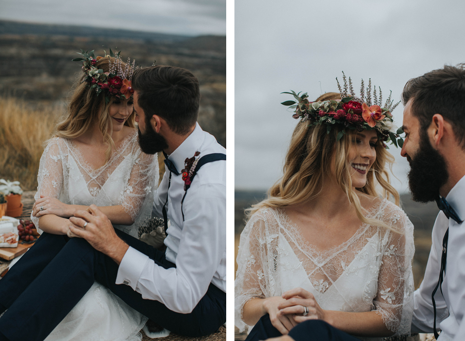 Drumheller Vow Renewal Elopement - Michelle Larmand Photography009