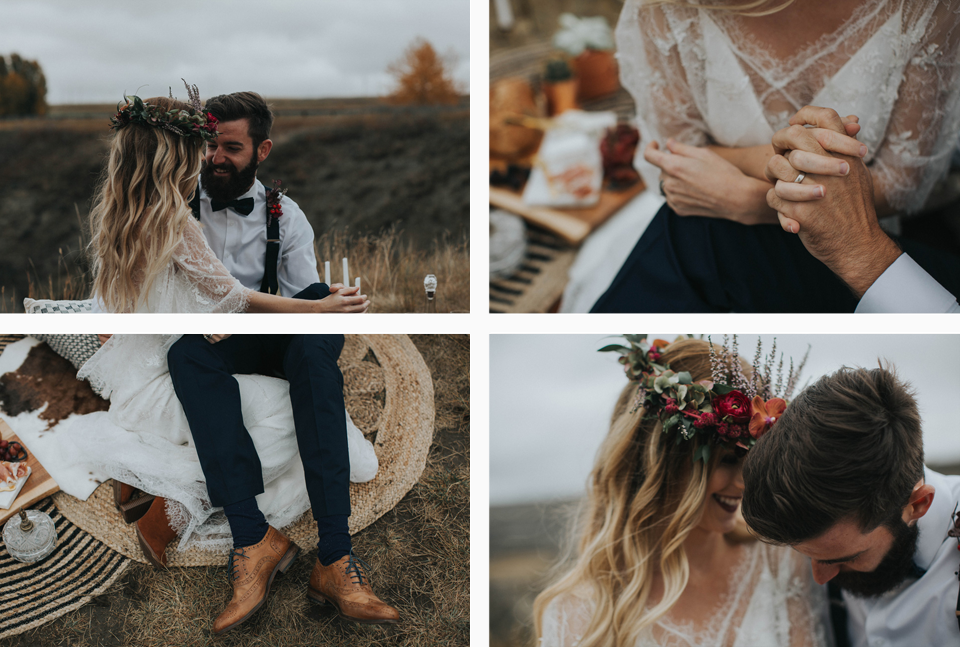 Drumheller Vow Renewal Elopement - Michelle Larmand Photography011