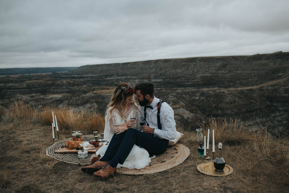 Drumheller Vow Renewal Elopement - Michelle Larmand Photography014