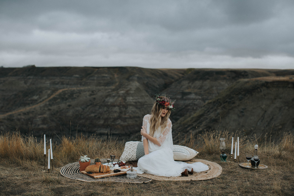 Drumheller Vow Renewal Elopement - Michelle Larmand Photography015