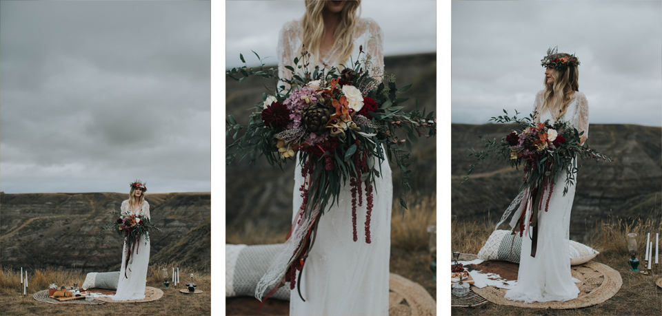 Drumheller Vow Renewal Elopement - Michelle Larmand Photography017
