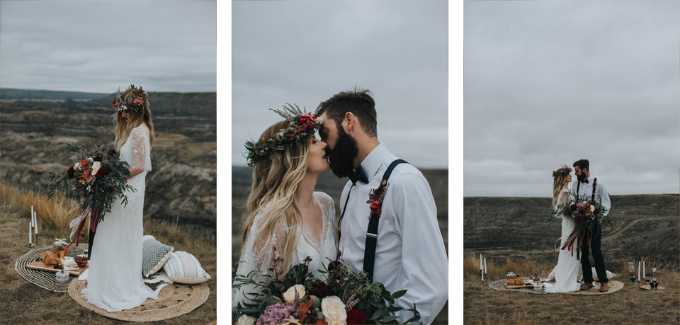 Drumheller Vow Renewal Elopement - Michelle Larmand Photography021