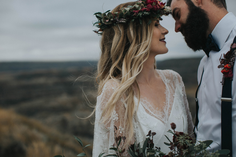 Drumheller Vow Renewal Elopement - Michelle Larmand Photography022