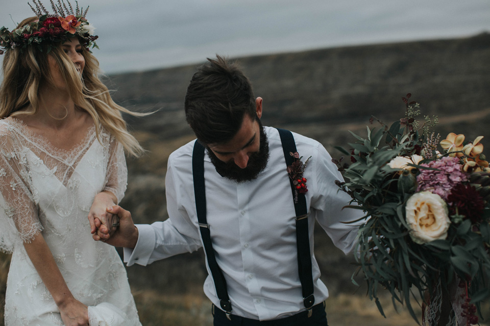 Drumheller Vow Renewal Elopement - Michelle Larmand Photography031