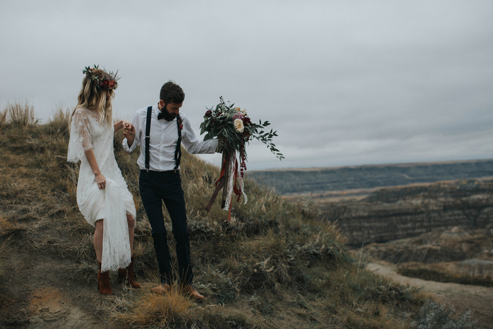 Drumheller Vow Renewal Elopement - Michelle Larmand Photography032