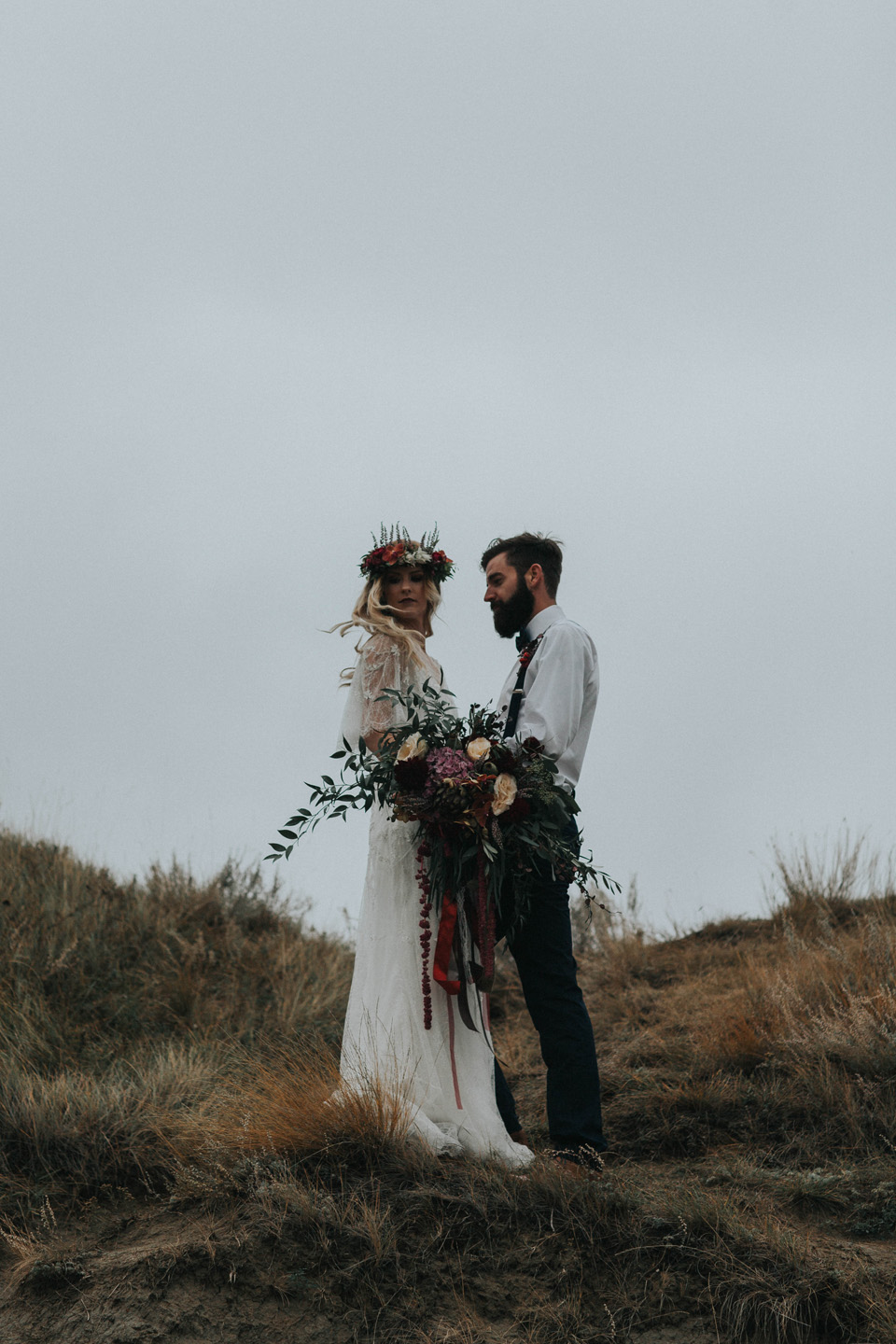 Drumheller Vow Renewal Elopement - Michelle Larmand Photography037