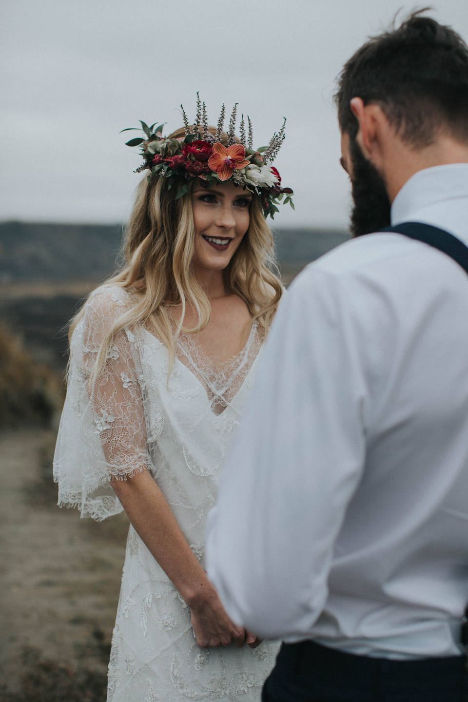 Drumheller Vow Renewal Elopement - Michelle Larmand Photography042